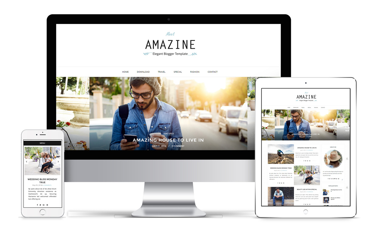Amazine Blogger Template Installation Guide - Bthemez Blog