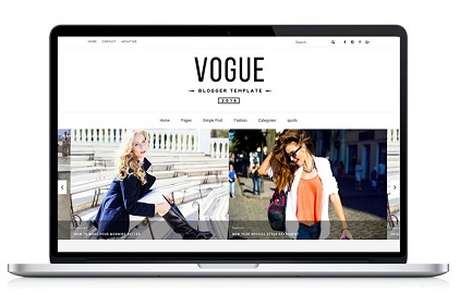 alice blogger template image