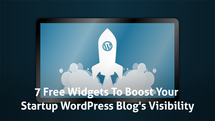 wordpress widgets to boost blog visibility
