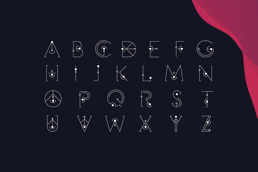 STYLISH FONT STYLE FREE DOWNLOAD uppercase